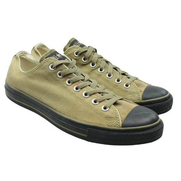 Converse All Star Tan Canvas Sneakers